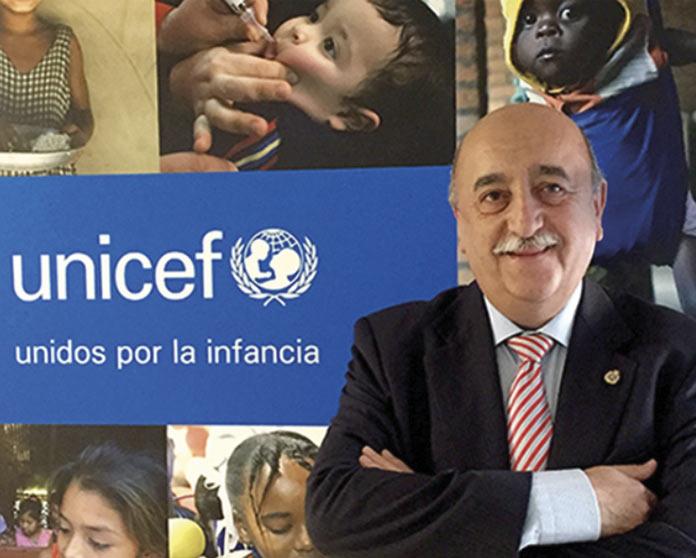 Carmelo Cascón, presidente del Comité Autonómico de UNICEF Extremadura,