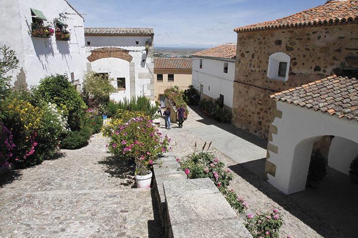 Barrio judío de Cáceres.