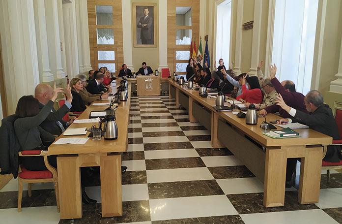 El ayuntamiento reduce a cuatro las comisiones informativas