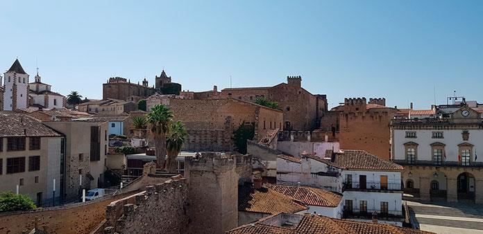 Las principales atracciones turísticas de Extremadura. Cáceres.