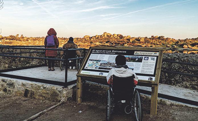 Malpartida de Cáceres, un destino sin barreras
