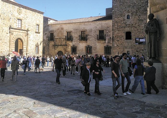 Extremadura se situa a la cabeza de las pernoctaciones de los turistas internacionales