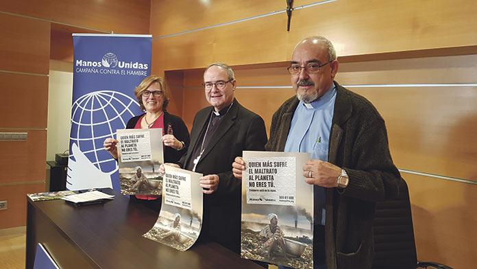 Manos Unidas, contra el cambio climático