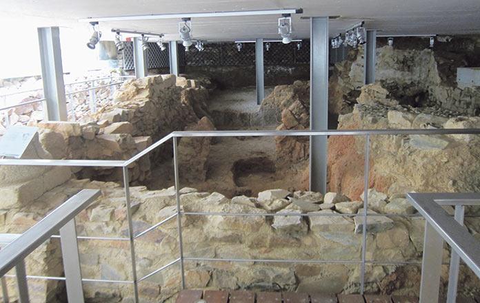 Abierto al público el pasado romano del palacio de Mayoralgo
