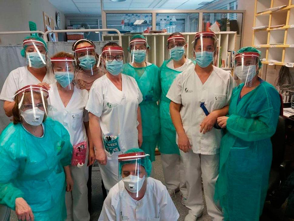 Protección facial para el Covid-19, realizadas con tecnología en 3D