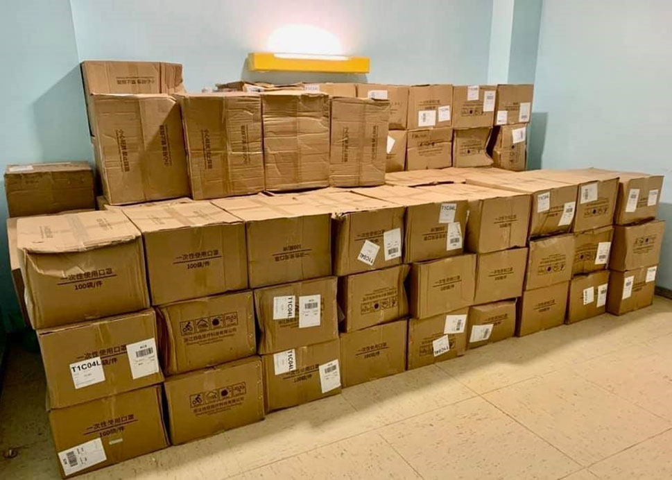 El Ayuntamiento de Cáceres reparte 2.000 mascarillas
