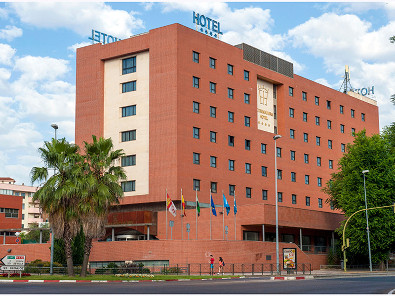 El Hotel Extremadura de Cáceres alojará a trabajadores esenciales