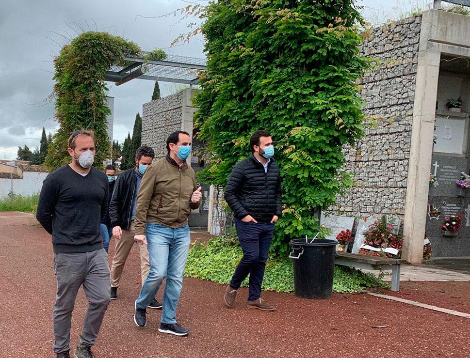 El Ayuntamiento de Cáceres espera que el cementerio pueda abrirse
