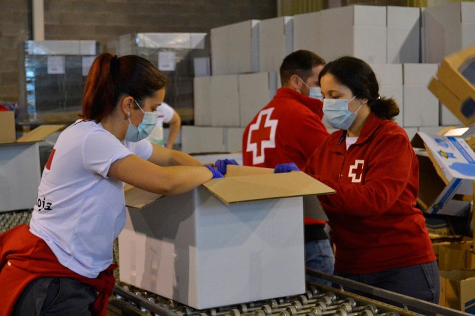 Cruz Roja Extremadura atiende a 36.700 personas durante el estado de alarma