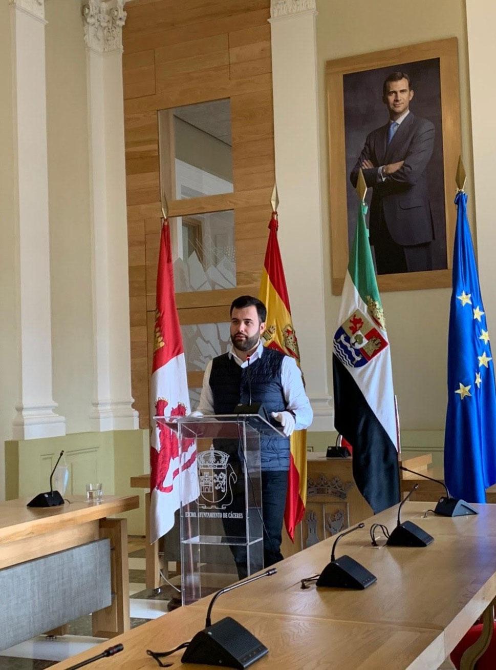 El Ayuntamiento de Cáceres ofrecerá los detalles sobre la salida de los niños con una campaña