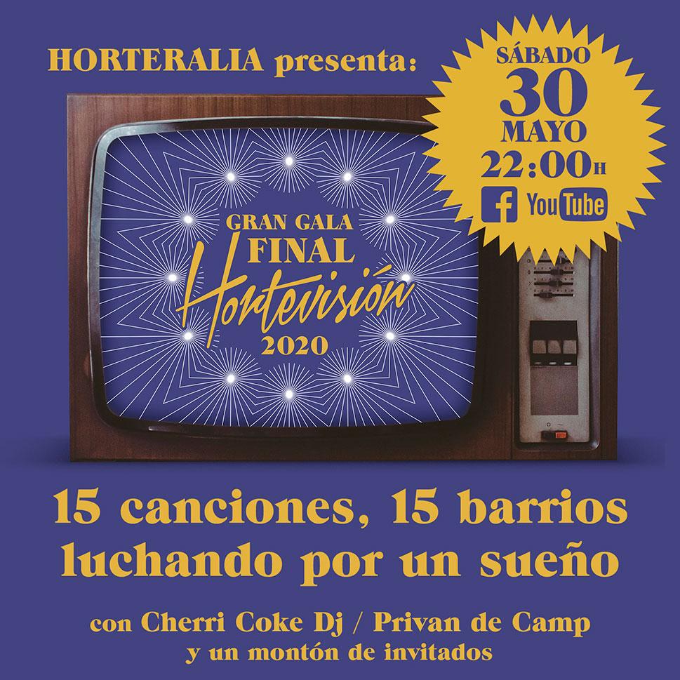 Quince barrios de España lucharán con su 'playback' en la gran final de 'Hortervisión'