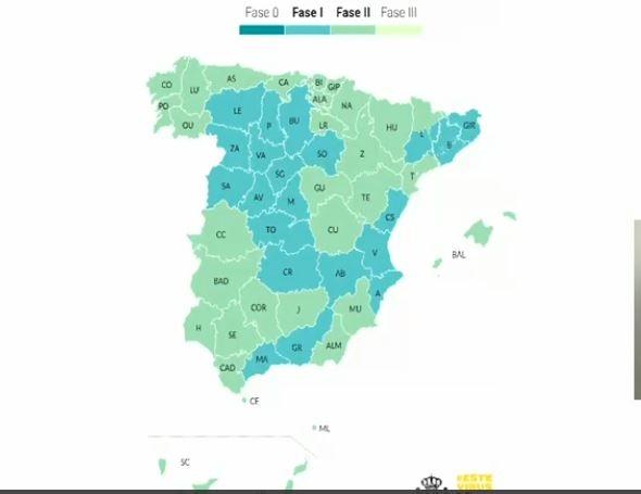 Extremadura pasa a la fase 2 de desescalada el próximo lunes