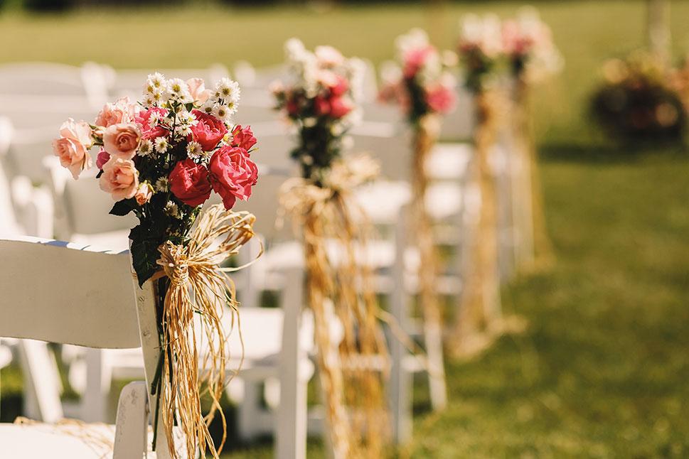 Las bodas al aire libre podrán contar hasta con 100 invitados