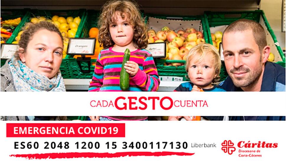Cáritas Diocesana de Coria-Cáceres atiende a 661 personas, el 63% de todo el año