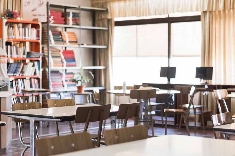 Los centros educativos se preparan para la vuelta a las aulas