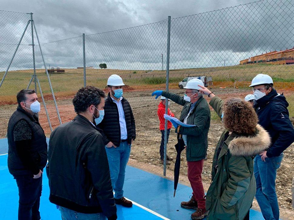 Empiezan las obras de la galería de tiro con arco en Cáceres El Viejo