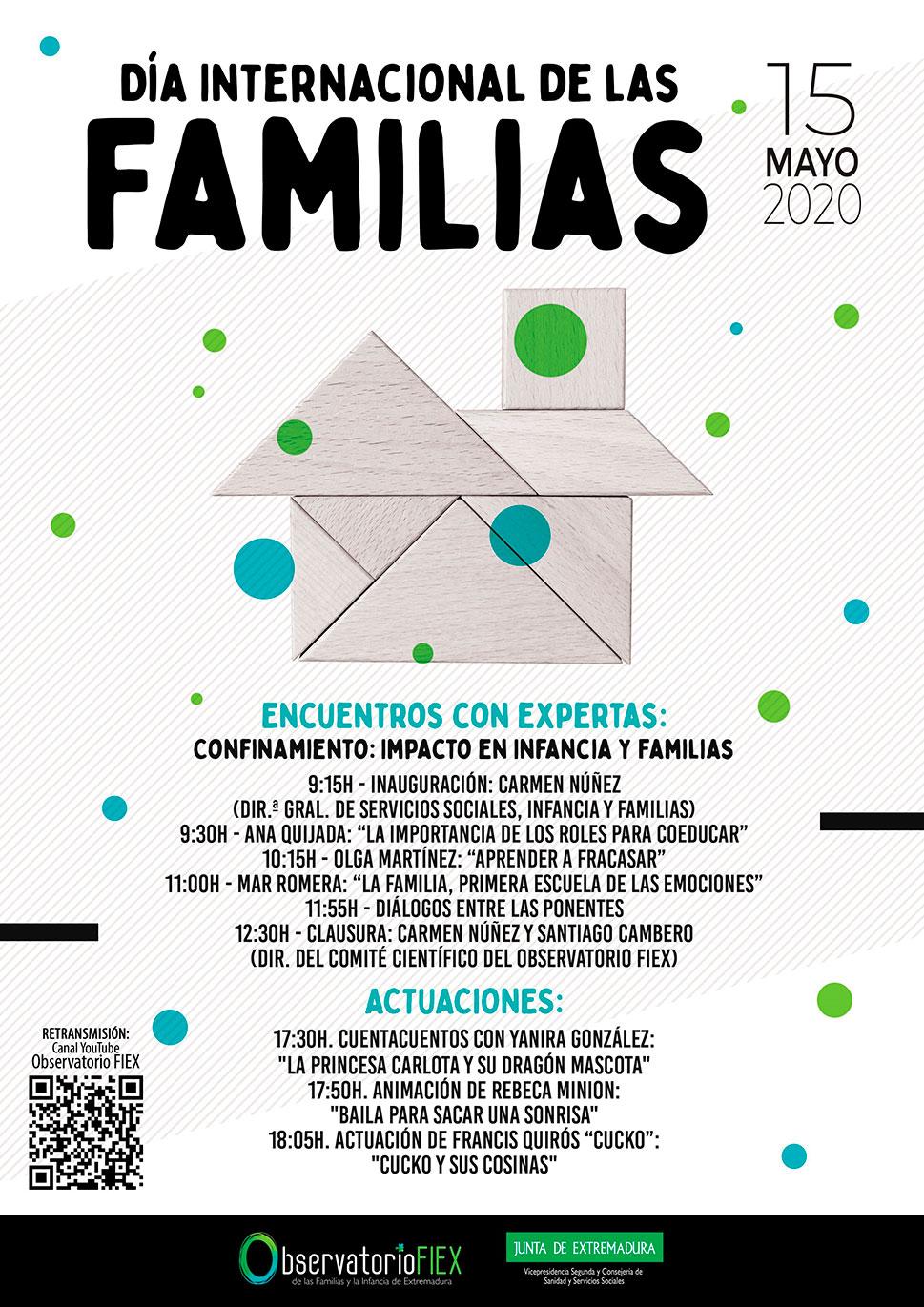 El Observatorio de las Familias y la Infancia en Extremadura celebra una jornada sobre el confinamiento