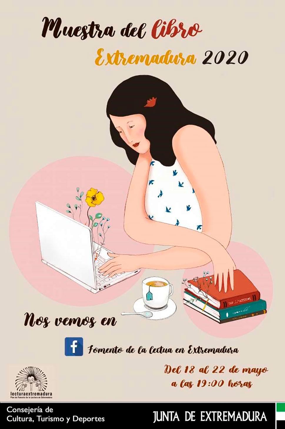 El Plan de Fomento de la Lectura celebra la Muestra del Libro Extremadura 2020
