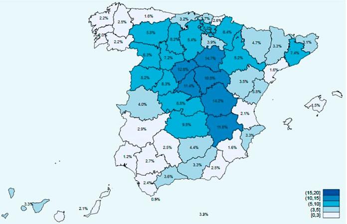 El 3,3% de la población extremeña cuenta con anticuerpos frente a COVID-19