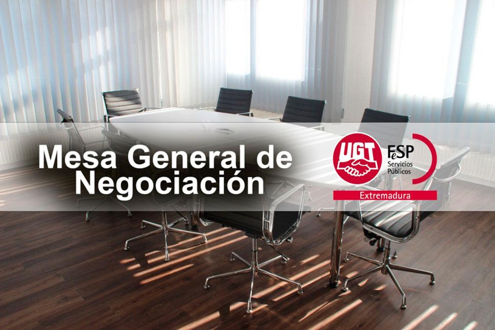 UGT Extremadura urge a convocar la Mesa de Negociación por la congelación salarial de empleados públicos del 2%