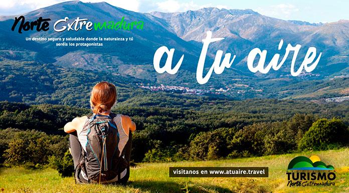 Gran éxito de la campaña turística A tu aire para viajar al Norte de Cáceres