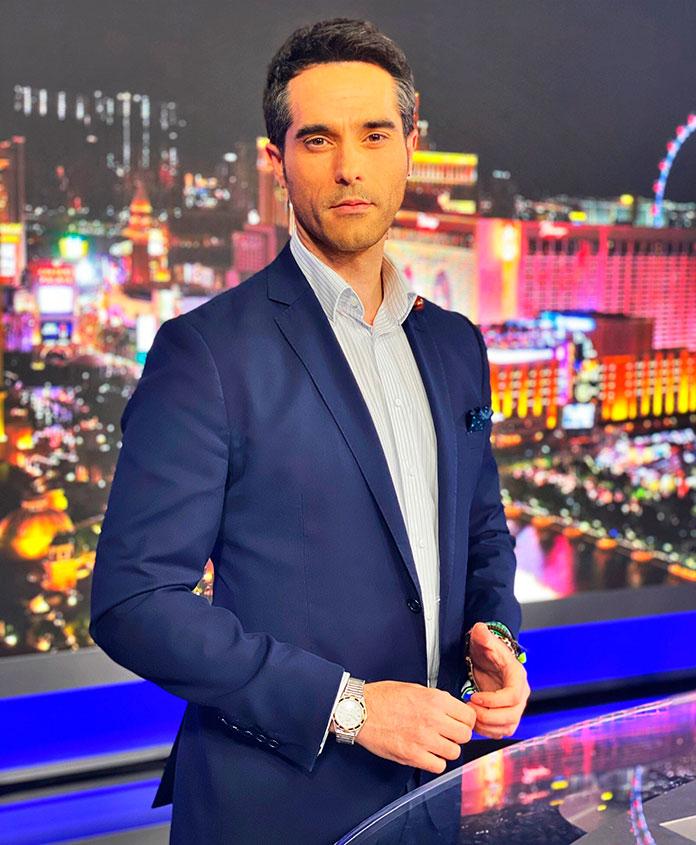 El periodista extremeño Antonio Texeira gana el Emmy a mejor presentador de noticias