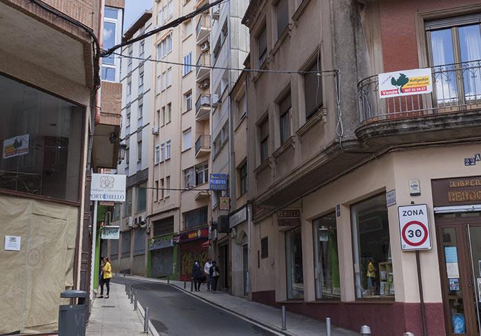 Cáceres contempla mantener Clavellinas Parras y San Antón para peatones