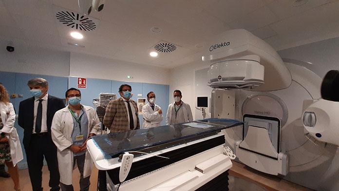 El acelerador lineal para radioterapia del Hospital Universitario comenzará a funcionar en noviembre