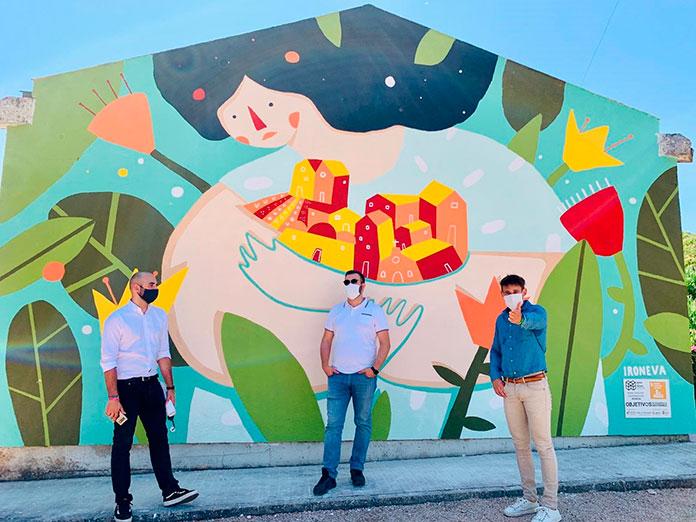 Murales por la igualdad en Cáceres