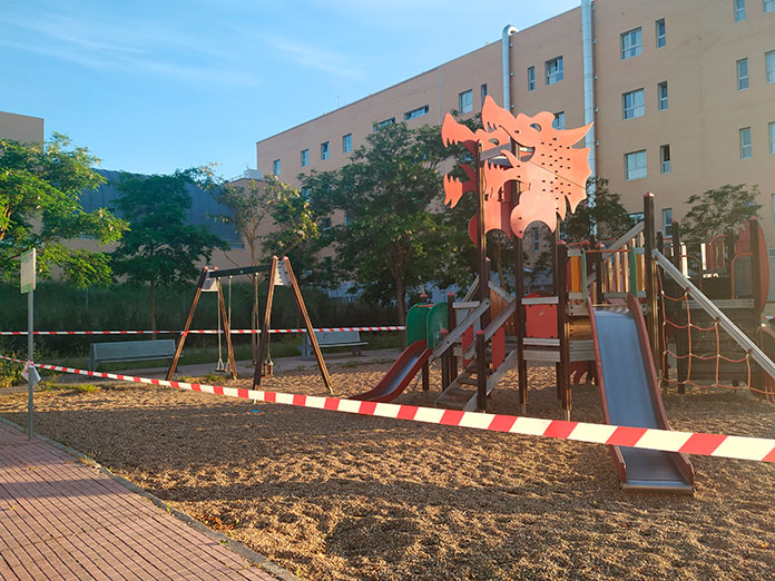 Los parques infantiles y las pistas deportivas abrirán a partir del lunes