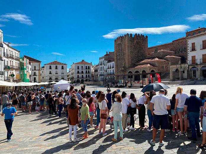 El Ayuntamiento de Cáceres lamenta la aglomeración durante el rodaje de Masterchef