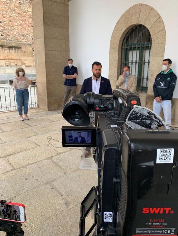 Cáceres desmontará las áreas peatonales de la desescalada de forma paulatina