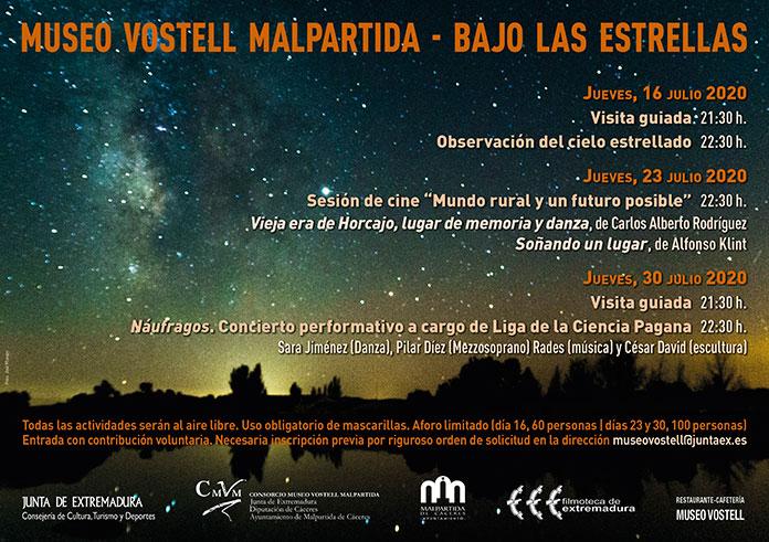 Actividades culturales Bajo las estrellas del Museo Vostell