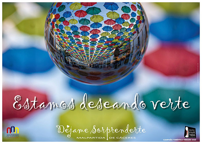 Estamos deseando verte, la nueva campaña turística de Malpartida de Cáceres