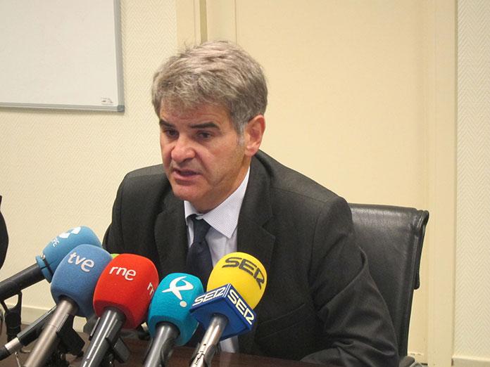 El SES descarta el confinamiento de Badajoz. Ceciliano Franco.