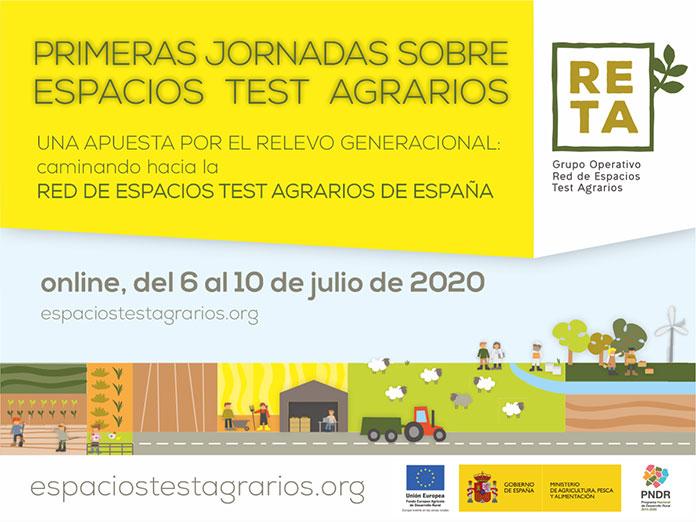 Más de 100 expertos debatirán sobre el futuro del campo en las primeras jornadas sobre espacios en las primeras jornadas sobre espacios test agrarios en España