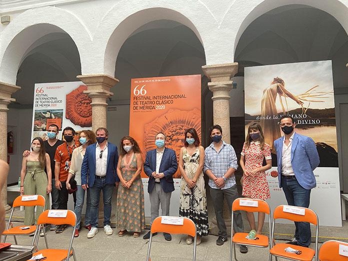 La Antigona de David Gaitán inaugura el Festival de Teatro Clásico de Mérida