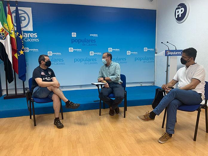 El PP de Cáceres critica el desinterés de la Junta y el Ayuntamiento con los familiares de la Asistida