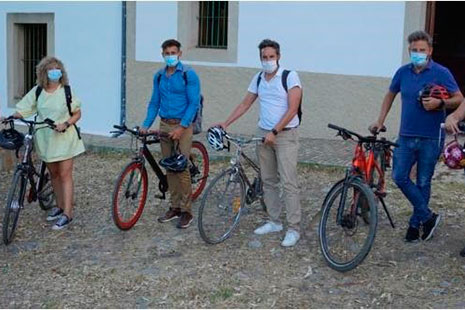Arranca la campaña 30 días en bici en Cáceres