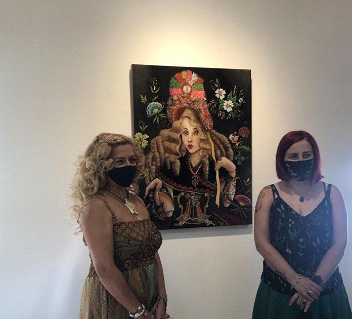 Ana H. San Pedro expone The Magic Show en el Palacio de la Isla de Cáceres