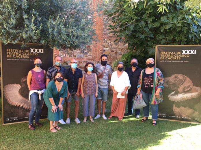 Comienzan las actividades paralelas del Festival de Teatro Clásico de Cáceres