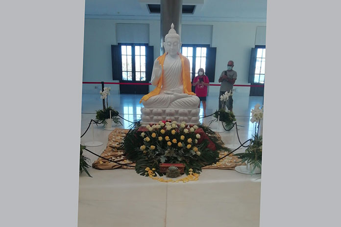 La Fundación Lumbini retransmitirá en directo la ceremonia civil y religiosa desde sus redes sociales