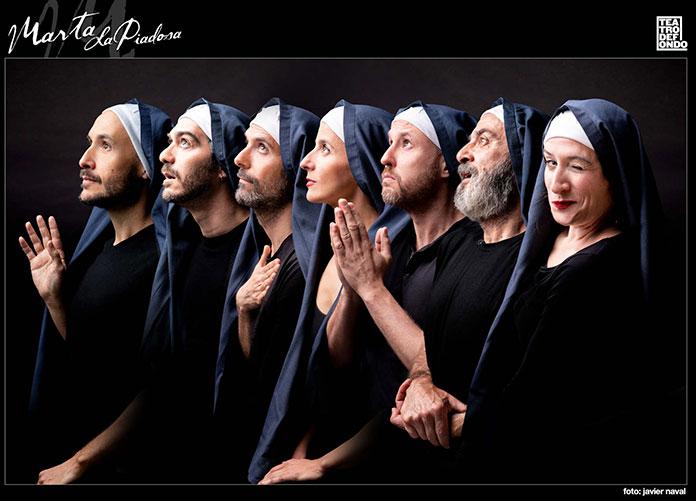 La obra Marta la piadosa, suspendida por el confinamiento de varios de los actores