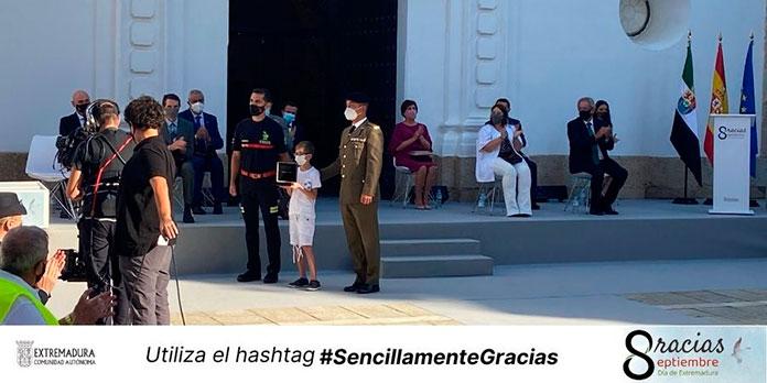Emoción en el acto de entrega de las Medallas de Extremadura 2020