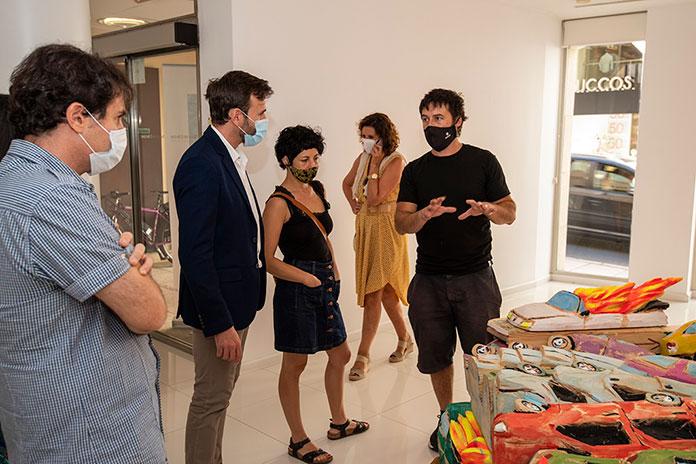 Autorun, de Kiko Miyares, inaugura la temporada de la sala de arte El Brocense en Cáceres
