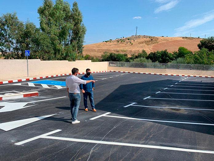 Finalizan las obras del aparcamiento del edificio El Madruelo de Cáceres