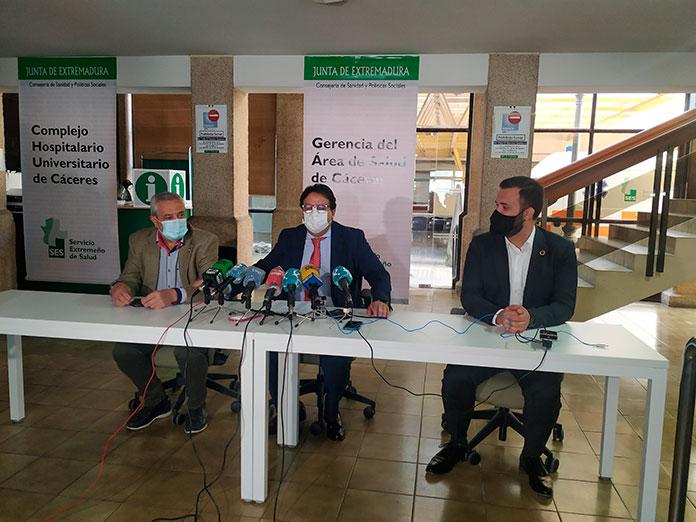 El Hospital de la Montaña acoge el PAC y los centros de salud Plaza de Argel y Zona Centro