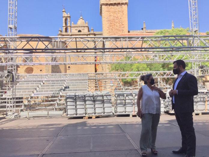 Arranca el Festival de Teatro Clásico de Cáceres con el 50% del aforo