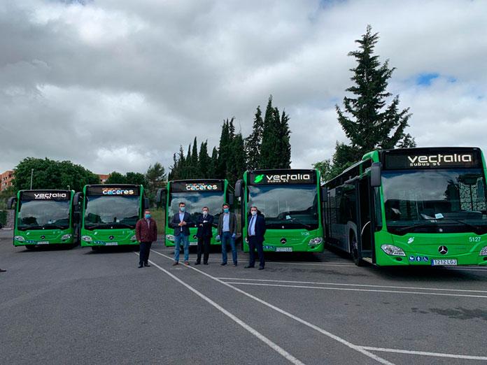Los autobuses de refuerzo del Campus ya circulan