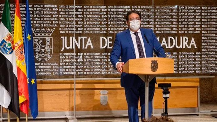 Extremadura tiene 1.524 casos activos de Covid-19